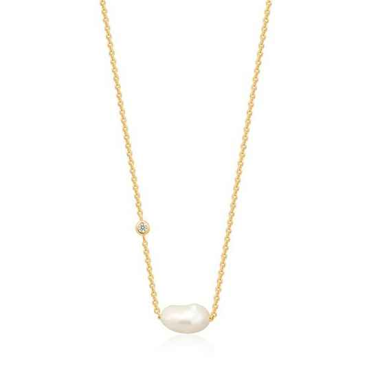 Ania Haie Pearl of Wisdom - Necklace AH N019-02G