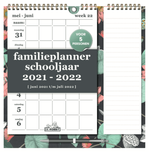 Familieplanner Memo (A4+)