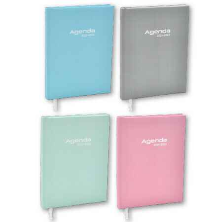 Agenda A5 Soft Touch Pastel