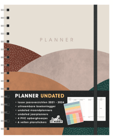 Planner Undated (A5+) D3