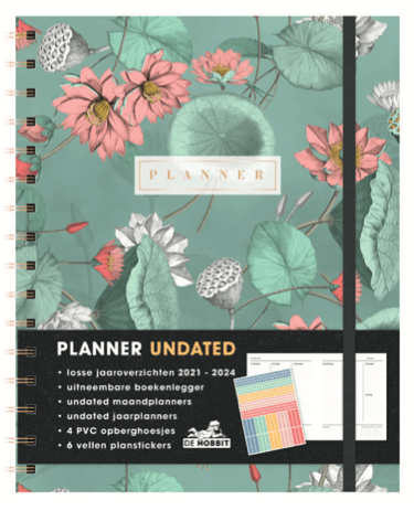 Planner Undated (A5+) D2