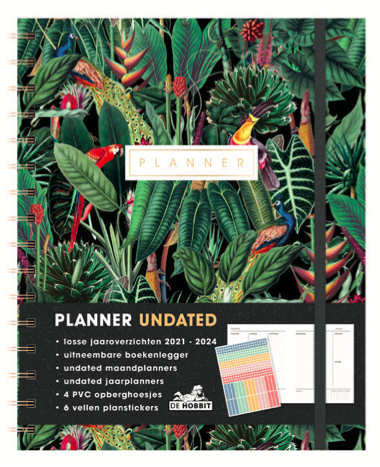 Planner Undated (A5+) D1