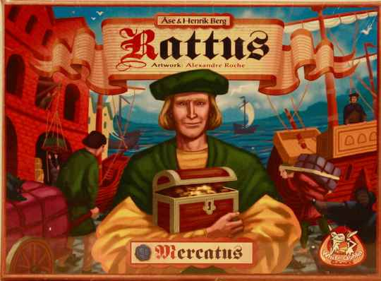 White goblin games Rattus mercatus