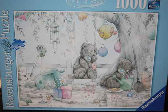 Ravensburger. The Me to You oval, Taddy Teddy 1000 st.