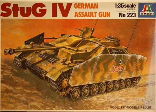 Italeri 1/35 STUG 4 german assault gun