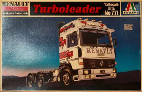 Italeri Renault turbo leader