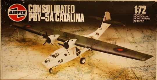 Airfix 1/72 consolidated PBY-5A catalina
