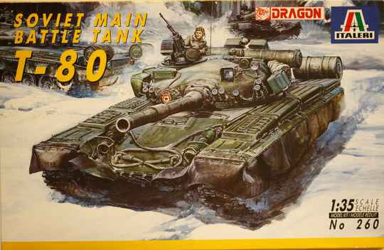Italeri 1/35 Soviet main battle tank T-80