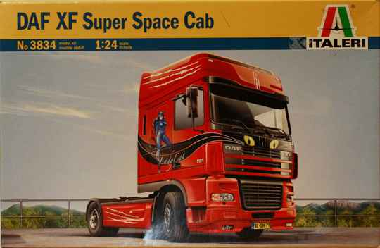Italeri 1/24 Daf XF Super Space Cab