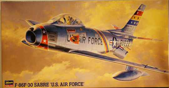 Hasagawa 1/48 F-86F-30 sabre U.S. air force