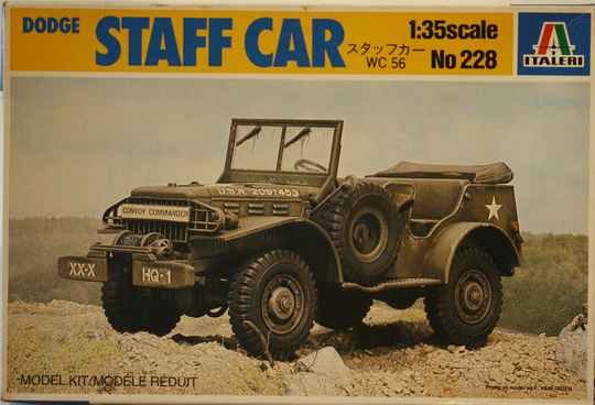 Italeri 1/35 Dodge staff car