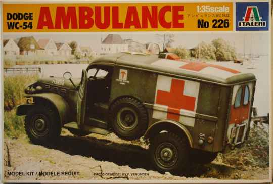 Italeri 1/35 Dodge ambulance wc-54