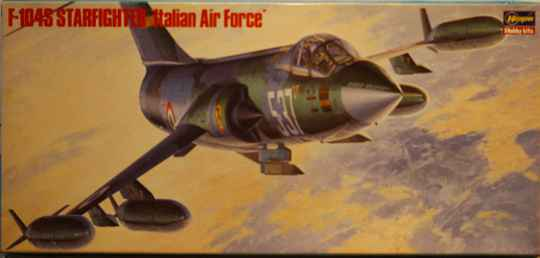 Hasagawa 1/72 F-104S starfighter 'italian air force'