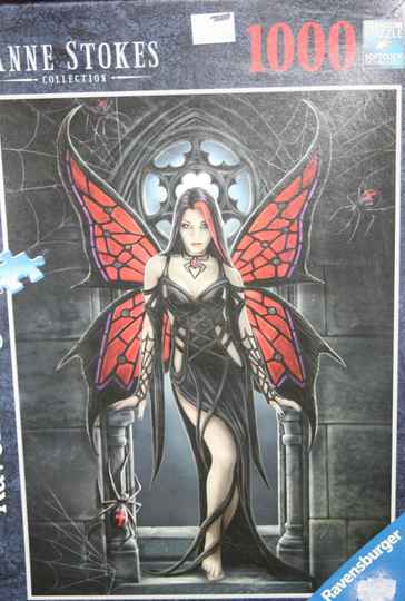 Ravensburger. Anne Stokes, Gothic Butterfly 1000 st