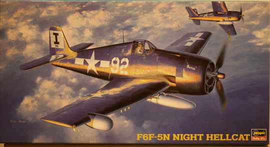 Hasagawa 1/48 F-6F-5N night hellcat