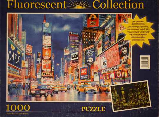 Fluorescent collection New York lights 1000st