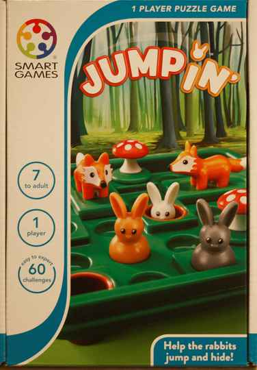 Smart Games  puzzel game Jumpin 421