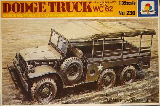 Italeri 1/35 Dodge truck wc 62