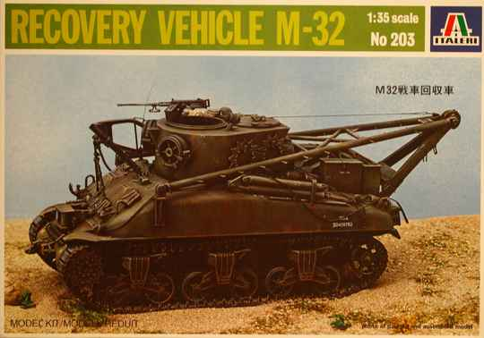 Italeri 1/35 Recvery vehicle M-32