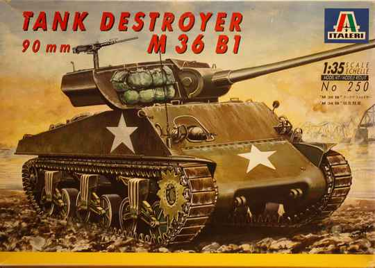 Italeri 1/35 tank destroyer M 36 B1