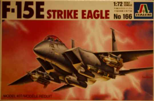 Italeri 1/72 F-15E strike eagle