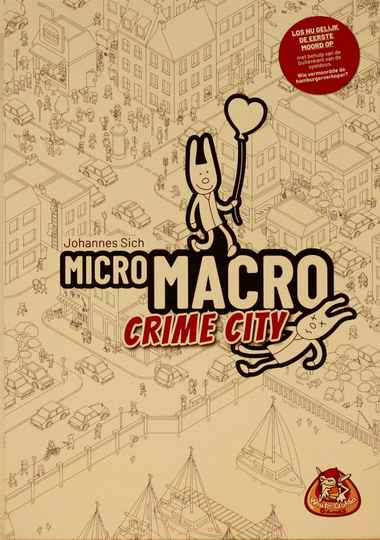 White goblin games Micro Macro Crime city