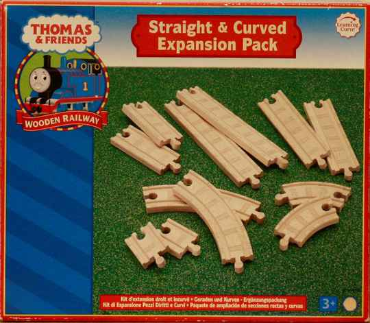 Thomas  de trein Straight & curved  expansion pack