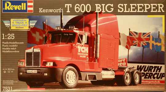 Revell Kenworth T 600 Big Sleeper  1/25