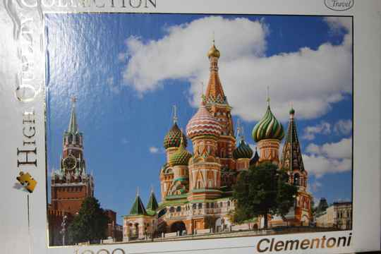 Clementoni. Moscow 1000 st