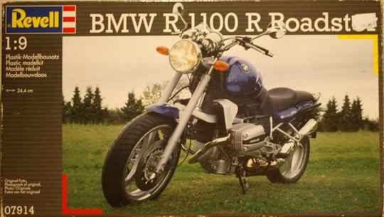 Revell BMW R 1100 R roadster 1/9