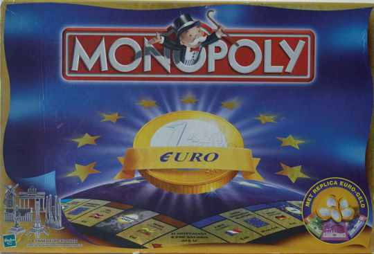 Parker monopoly euro uitgave