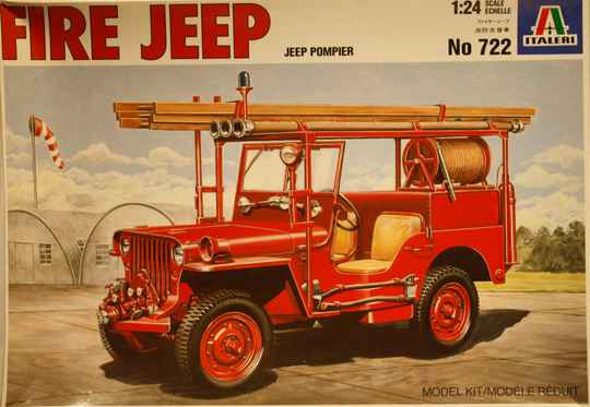 Italeri 1/24 fire jeep