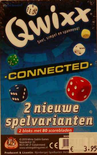 White goblin games Qwixx connected 2 nieuwe spelvariaties