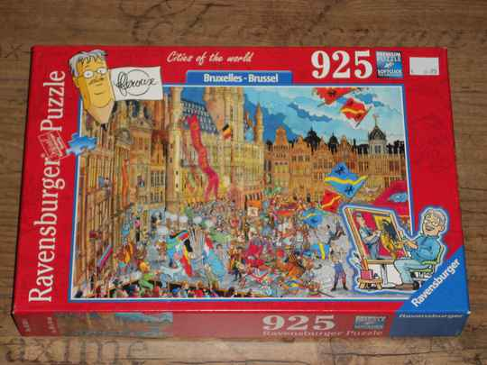 Ravensburger Cities of the World Brussel 925 st.