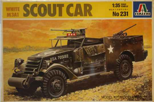 Italeri 1/35 scout car