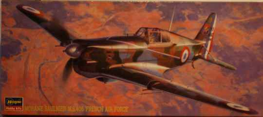 Hasagawa 1/72 morane saulnier m.s.406 'french air force'