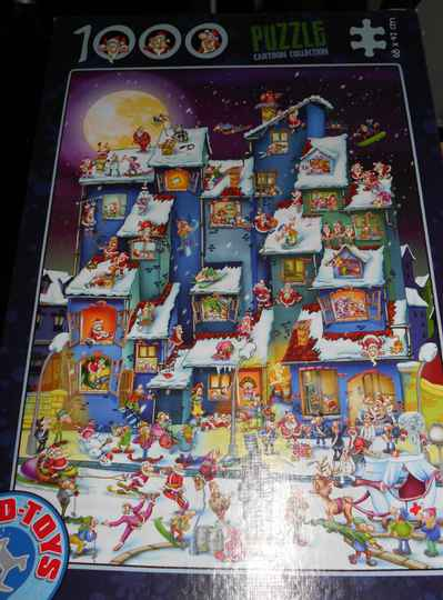 D-Toys Cartoon Collection. Kerstmis,  1000 st
