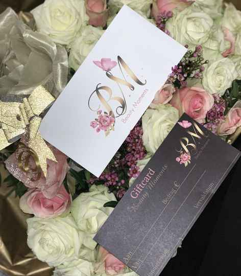 Gift card BeautyMoments €40