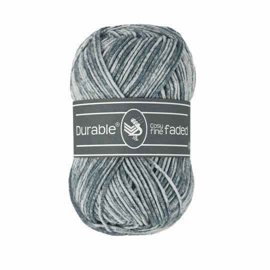 Durable Cosy Fine Faded - 2228 Silver Grey