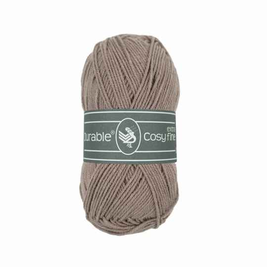 Durable Cosy extra fine - 343 taupe