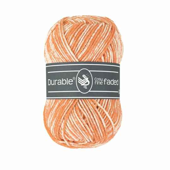 Durable Cosy Fine Faded - 2197 Mandarin