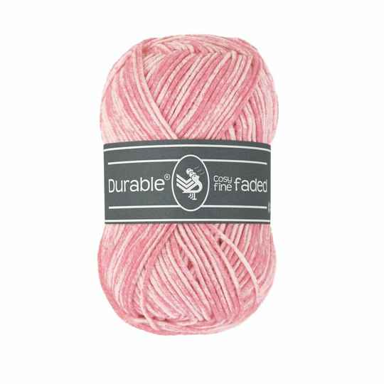 Durable Cosy Fine Faded - 229 Flamingo pink