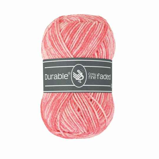 Durable Cosy Fine Faded - 2190 Coral