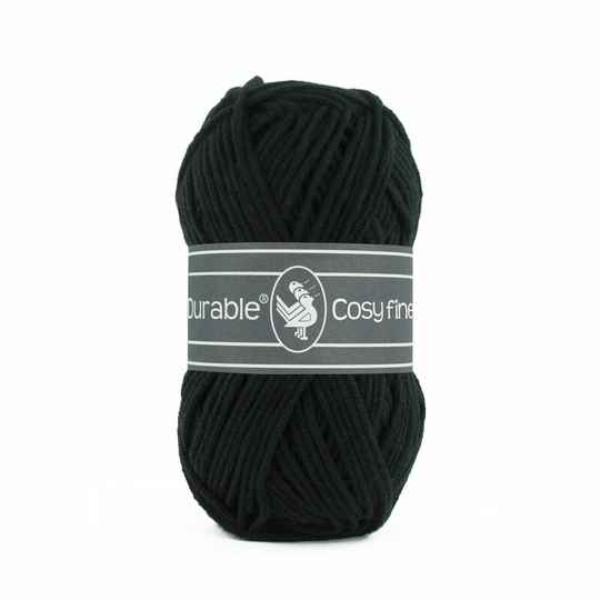 Durable Cosy Fine - 325 black
