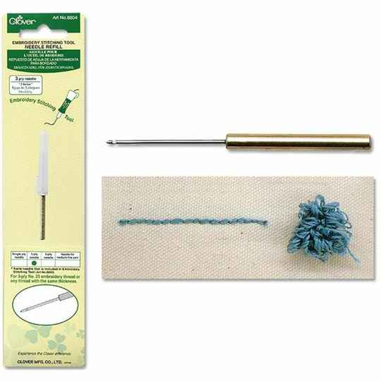 Clover Punch Naald Navulling 3-ply