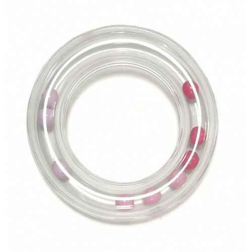 Durable Bijtring 80mm rammelaar Roze