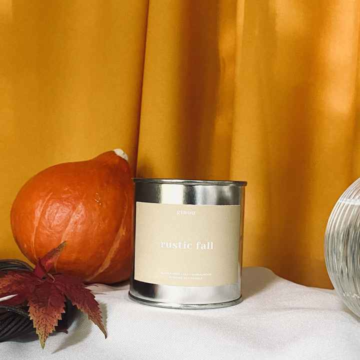 Rustic Fall Soy Candle