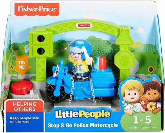 Fisher price Little People Small Vehicle Motor Blauw 3-delig