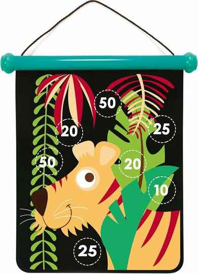 Magnetisch Dartspel Tropical Jungle