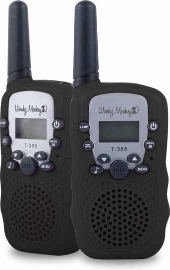 Wonky Monkey Walkie Talkie - 3 km bereik
